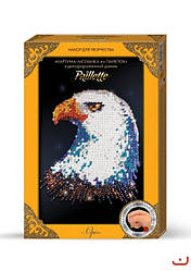 Картина мозаика из пайеток Орел