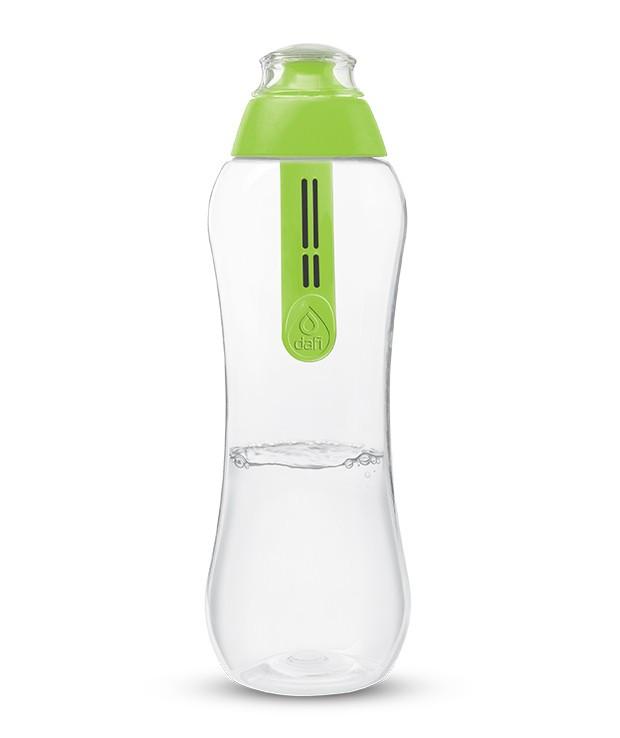 Бутылка Dafi с фильтром зеленая, 500 мл