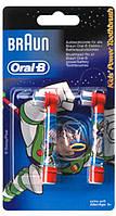 Сменные насадки для зубной щетки Braun Oral-B EB10 (2 шт.) детские