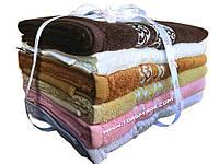 Набор полотенец из бамбукового волокна (6 шт., в уп.) 50 х 90 в подарочной упаковке