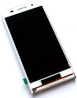 Дисплей (экран) + сенсор (тач скрин) Huawei P6 white (оригинал)