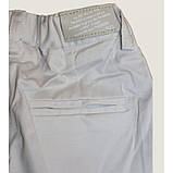 Брюки белые зауженные с боковыми карманами размер 6, фото 3