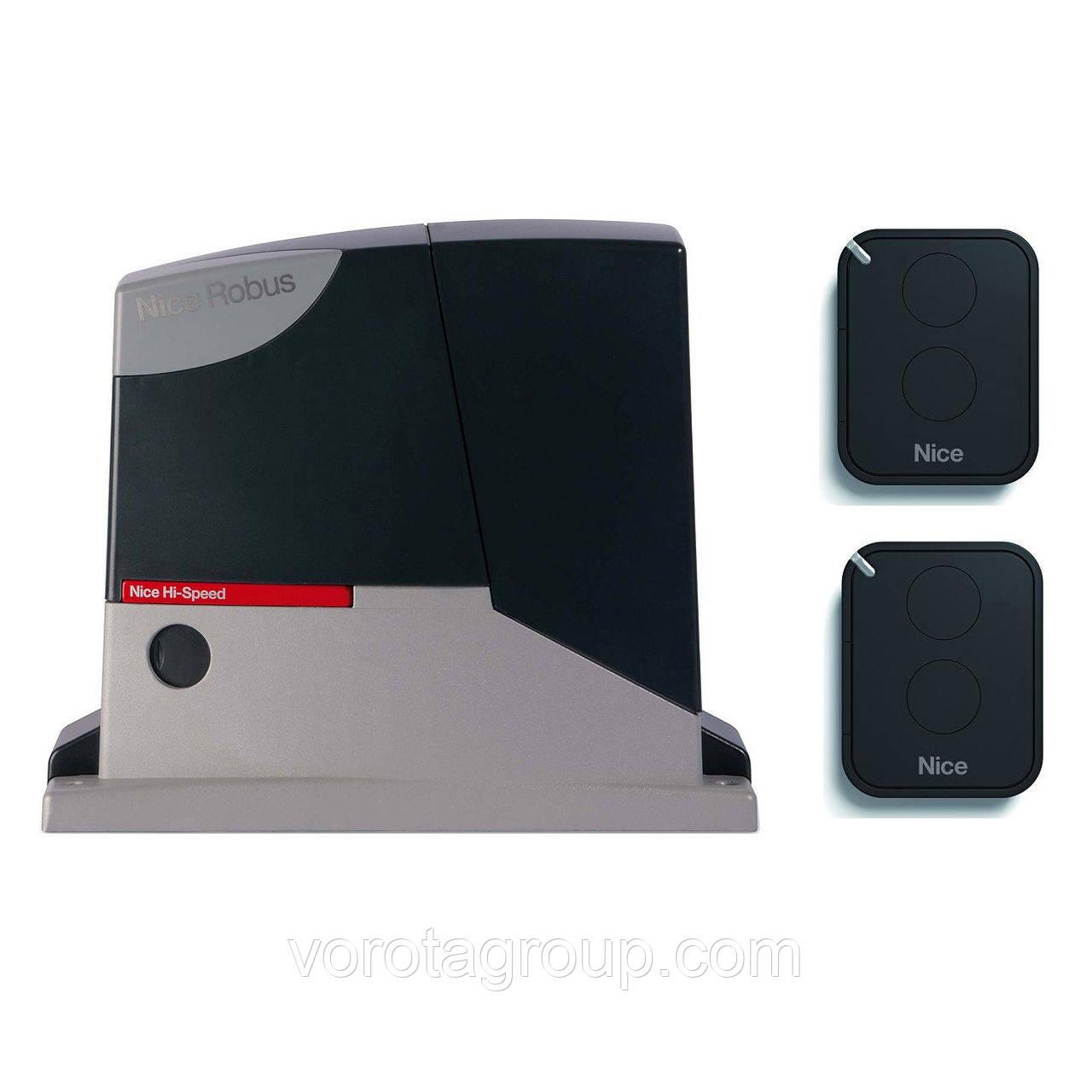 Автоматика для откатных ворот Nice (ROX1000KLT) до 1000кг, фото 1