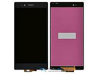 Дисплей Sony Xperia Z Ultra C6802, C6806, C6833, XL39h с тачскрином, черный