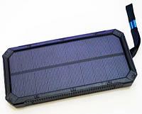 Внешний аккумулятор портативное зарядное устройство UKC Solar Power Bank 32800 mAh LED фонарь с солнечной бата