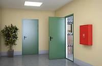 Двери металлические противопожарные EI-30