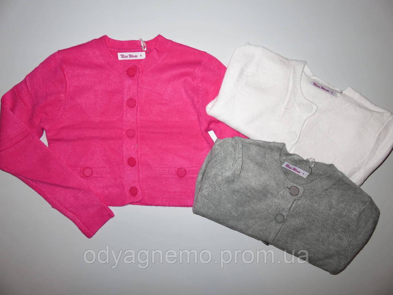 Свитер укороченный для девочек Nice Wear оптом, 4-12 лет.