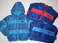 Курточка демисезонная на меховой подкладке для мальчиков Cross Fire оптом, 1-5 лет., фото 1