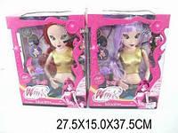 Музыкальная кукла для девочки Винкс wx777 с аксессуарами в коробке 27х15х37 см