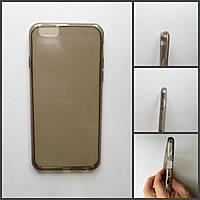 Силиконовый черный чехол 0,3mm для  iPhone 6PLUS/6sPLUS