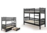 Кровать Бай-бай двухъярусная 80 (Мебигранд/Mebigrand) 860х2020(2120)х1700мм, фото 3