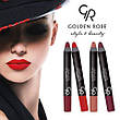 Golden Rose - Губная помада-карандаш Matte Lipstick Crayon Тон 07 red, красная, фото 5