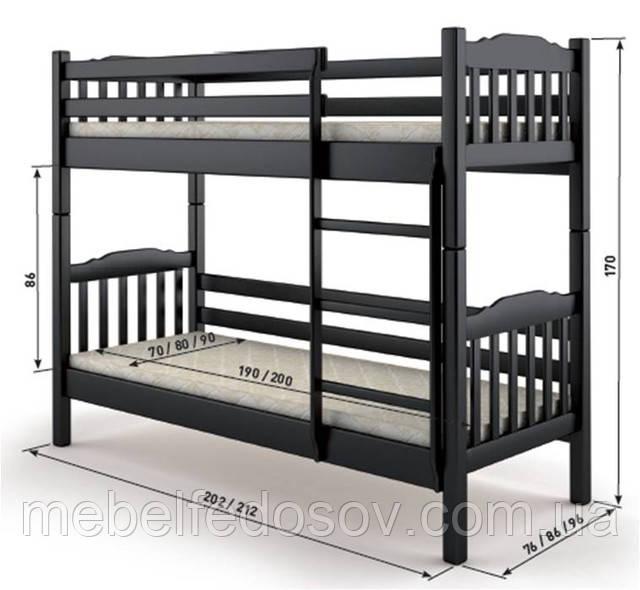 Кровать бай-бай мебигранд размер