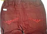 Штаны для девочек Коттон 110 см 4 года Коралловый 26367023440 ШР367 Бэмби Украина, фото 3