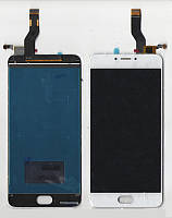 Дисплей + сенсор Meizu M3 Note L681H(ver.TTCT0553511001) белый