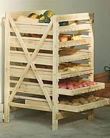 Стелаж для хліба / Стеллаж под хлебобулочные изделия.