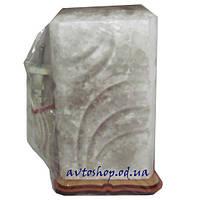 Солевой светильник куб