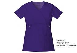 "Женская медицинская футболка ""назапах"" Luxe 21701, ТМ Cherokee, фото 2"