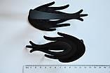 Матовые боковые зажимы для волос (6 шт), фото 2