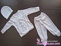 Комплект одежды для новорожденного, 3 предмета