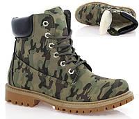 Стильные армейские ботинки