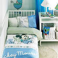 Постельное бельё в детскую кроватку MICKEY SCRIBBLE PLAY BABY