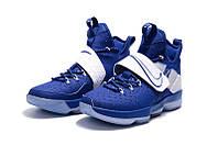 Мужские баскетбольные кроссовки Nike LeBron 14 (Deep Royal Blue), фото 1