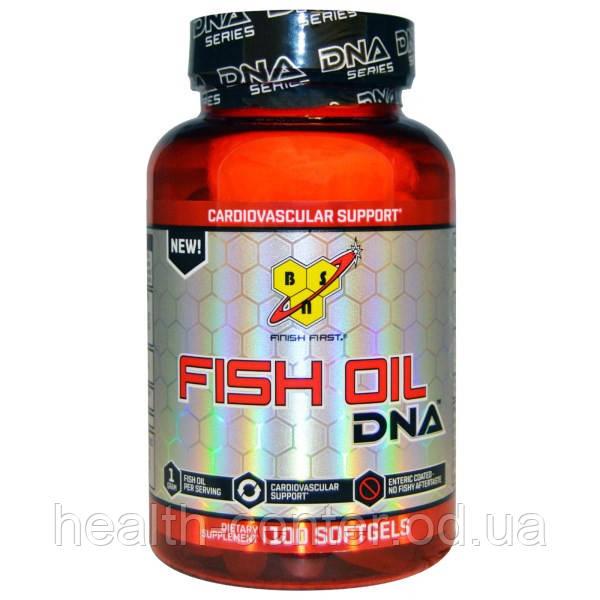 Омега-3 (Рыбий жир) 100 капс 1000 мг для укрепления сердца, сосудов  BSN USA