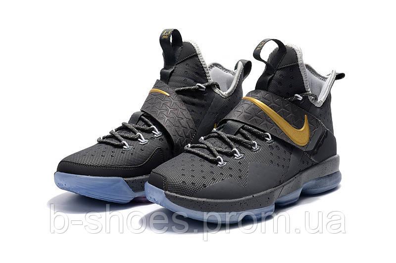 Мужские баскетбольные кроссовки Nike LeBron 14 (Cement Grey)