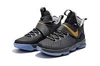 Мужские баскетбольные кроссовки Nike LeBron 14 (Cement Grey), фото 1