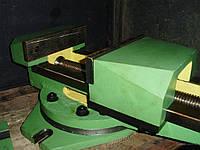 Тиски станочные поворотные 7200-0220 чугунные (Гомель)