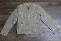 Весенняя куртка для девочек ( кож-зам) 98- 104 рост