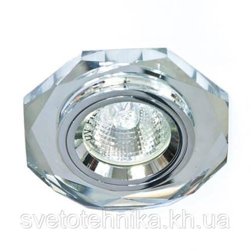 Точечный светильник Feron 8020-2 серебро