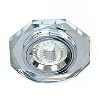 Точечный светильник Feron 8020-2 серебро, фото 1