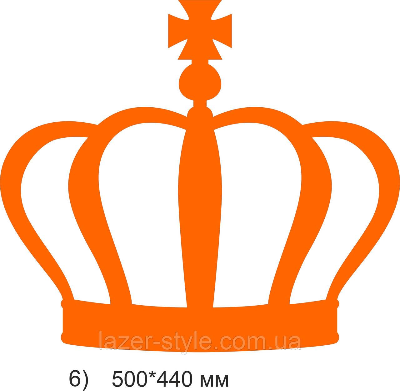 Свадебный декор Корона 6