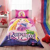 Комплект дитячої постільної білизни TAC Rapunzel