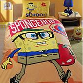 Комплект детского постельного белья TAC Sponge Bob Academics