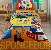 Комплект детского постельного белья TAC Sponge Bob Students