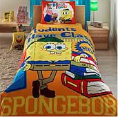 Комплект дитячої постільної білизни TAC Sponge Bob Students