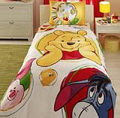 Комплект дитячої постільної білизни TAC Winnie Baloon