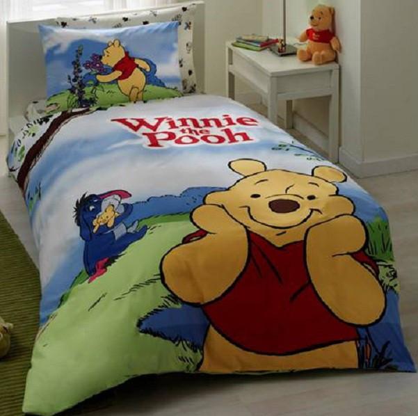 Комплект детского постельного белья  TAC Winnie Adventure