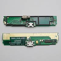 Нижняя плата зарядки Lenovo S890