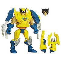 Разборная фигурка супергероя Росомаха с подсветкой - Electronic Wolverine, Marvel, Mashers, Hasbro