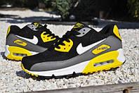 Кроссовки мужские Nike Air Max 90 Black & Yellow