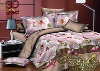 Евро maxi комплект постельного белья Sveline Tekstil S171АВ (сатин)