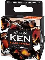 Ароматизатор Areon Ken на панель, Black Crystal