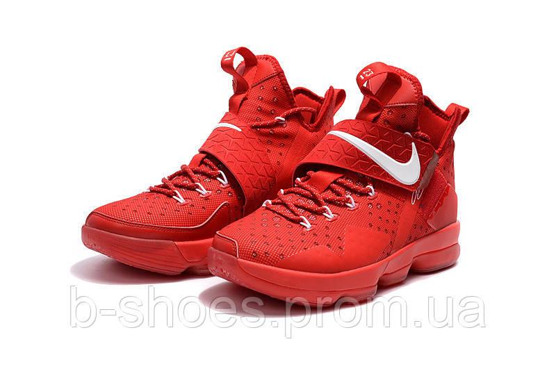 Мужские баскетбольные кроссовки Nike LeBron 14 (University Red)