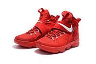 Мужские баскетбольные кроссовки Nike LeBron 14 (University Red), фото 1