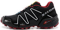 Мужские кроссовки Salomon Speedcross 3 Саломон черные
