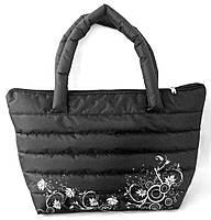 Молодежная женская стеганая сумка пуховик Nike